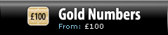 Gold Numbers - Pricing from £100
